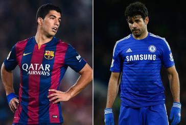 Perfil: Luis Suárez vs Diego Costa