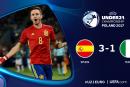 Espanha vs Itália Euro Sub-21
