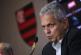 Flamengo em organização ofensiva