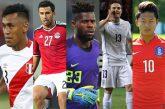 Cinco possíveis revelações no Mundial 2018