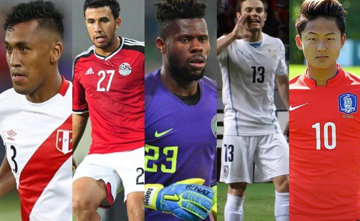 (Português) Cinco possíveis revelações no Mundial 2018