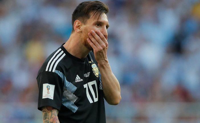 Organização ofensiva da Argentina contra a Islândia