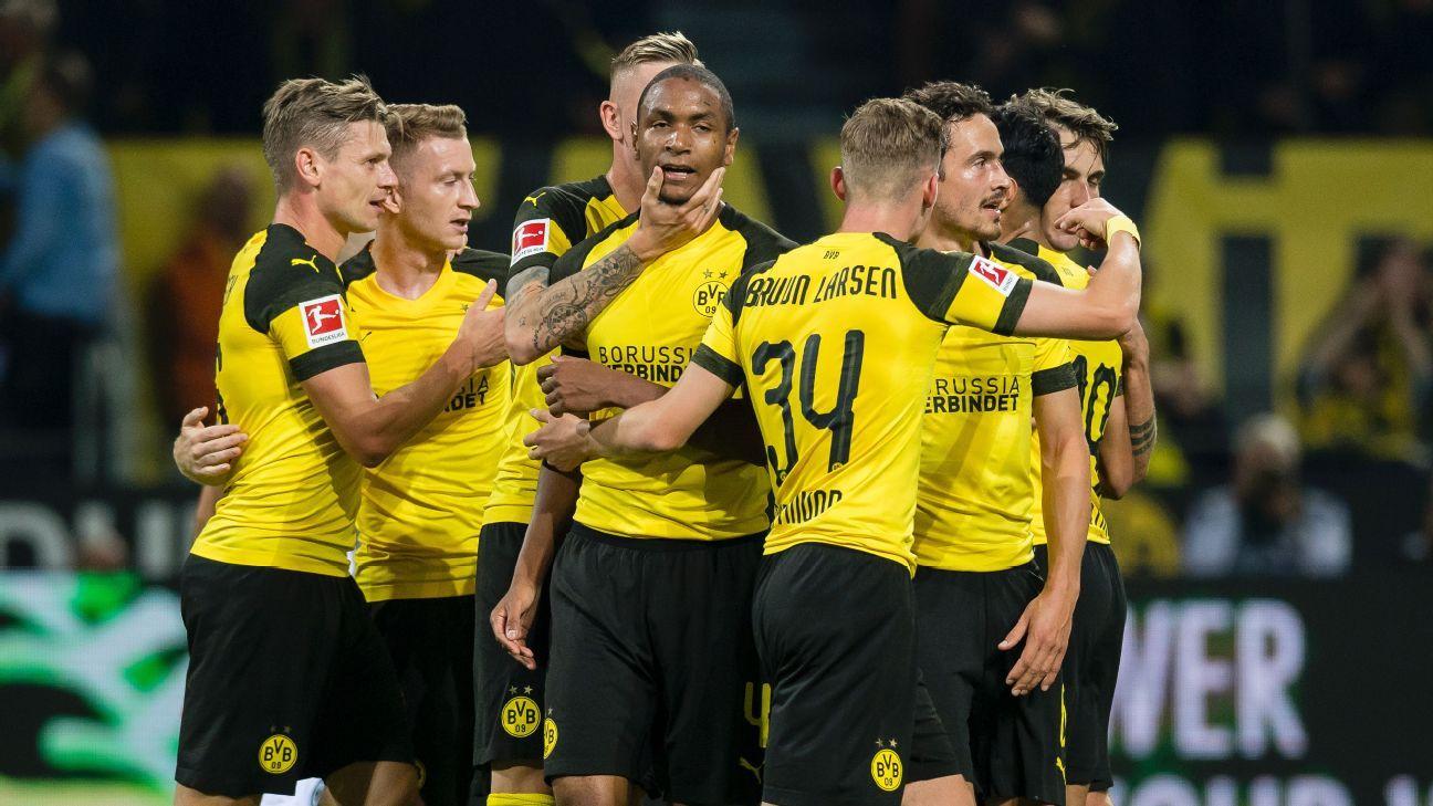O camisola amarela da Bundesliga