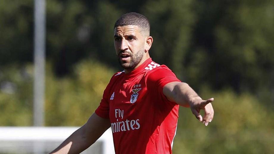 Adel Taarabt no regresso ao SL Benfica
