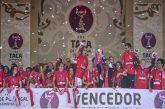Taça de Portugal: Benfica superior ao Valadares leva troféu pela 1ª vez